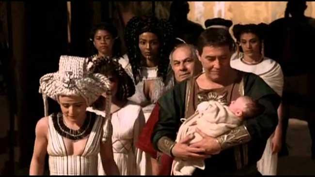 У Цезаря и Клеопатры родился сын