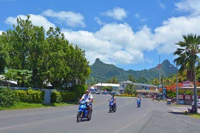 Круиз на скутере острова Кука