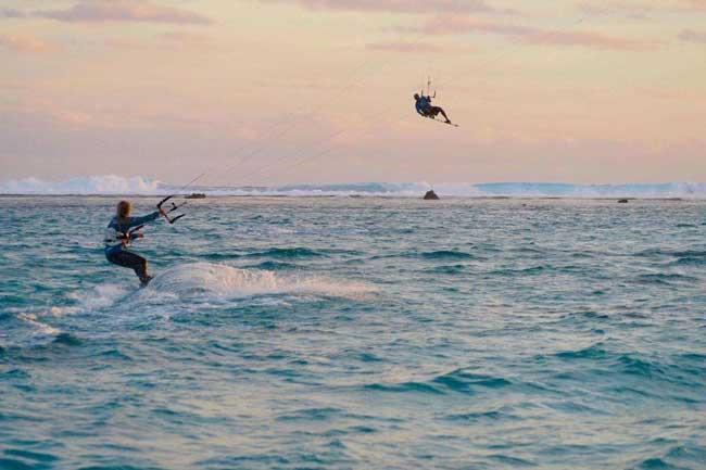 Научиться кайтсерфингу на островах Кука