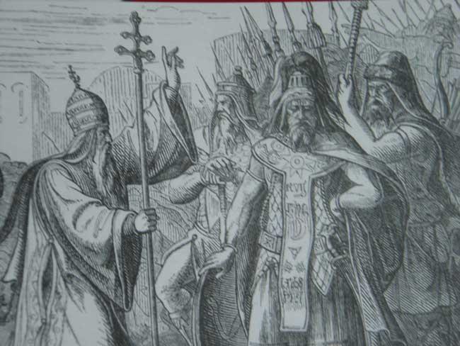 Аттила и папа