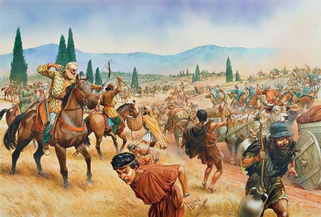 Вавилон был завоеван персами