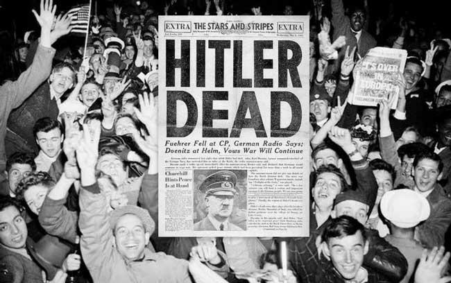 ФБР не верили смерть Гитлера