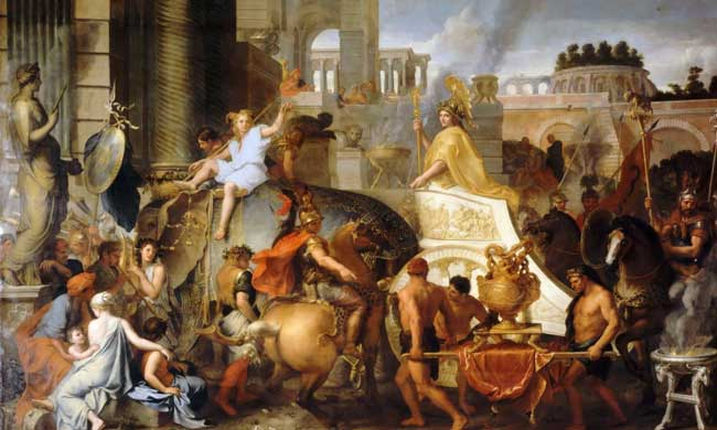 Вавилон попал в руки Александра Македонского