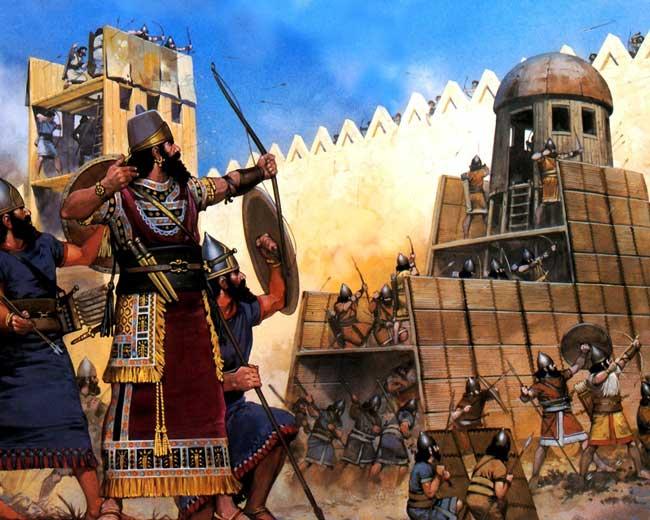 В 7 веке нашей эры Вавилония была завоевана мусульманами