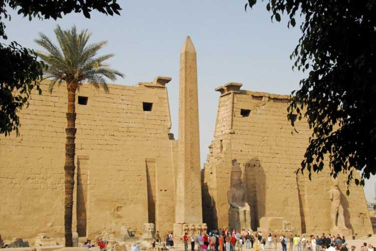 Луксорский Обелиск, Луксор, Египет