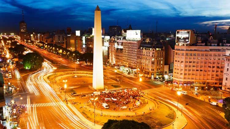 Obelisco de Buenos Aires, Буэнос-Айрес, Аргентина