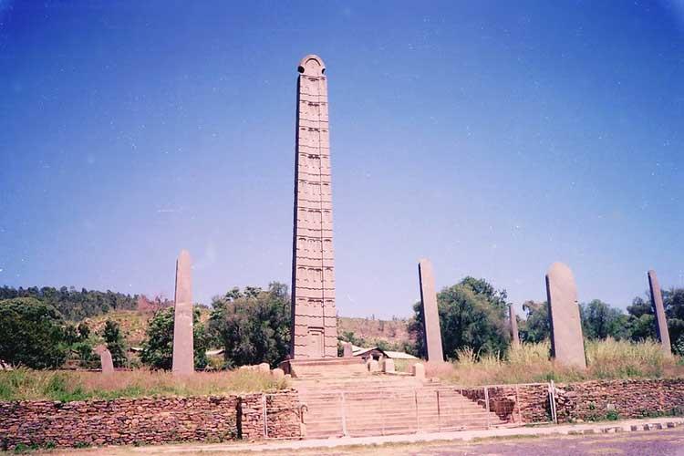 Обелиск Аксума, Эфиопия