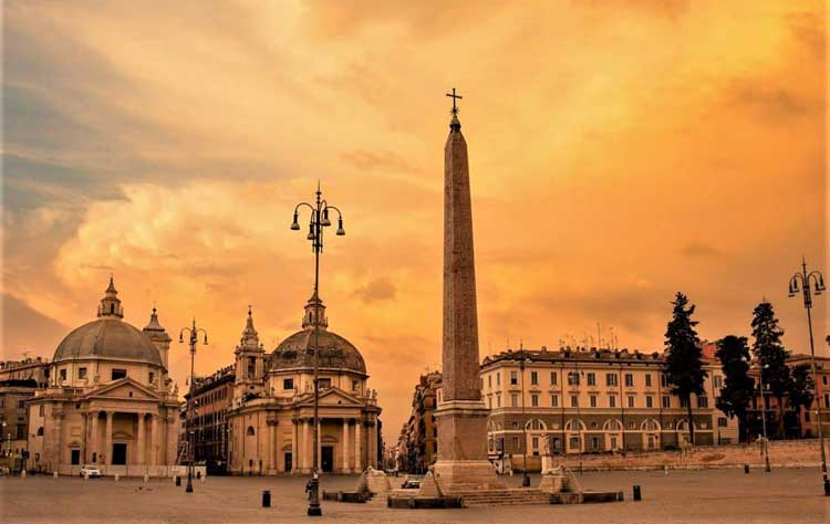 Обелиск Фламинио, Рим, Италия