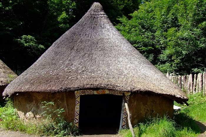Первые крыши