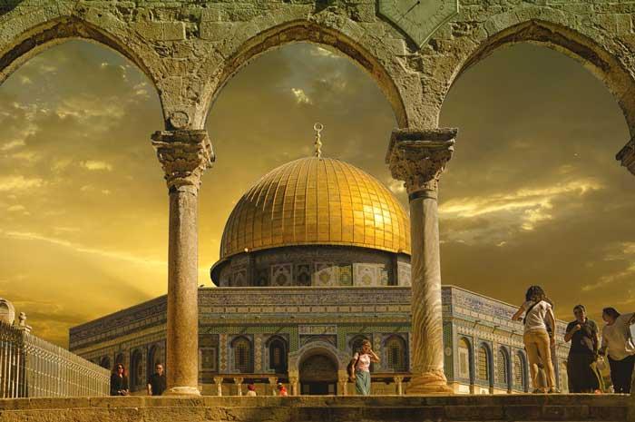 Храмовая скала в Израиле