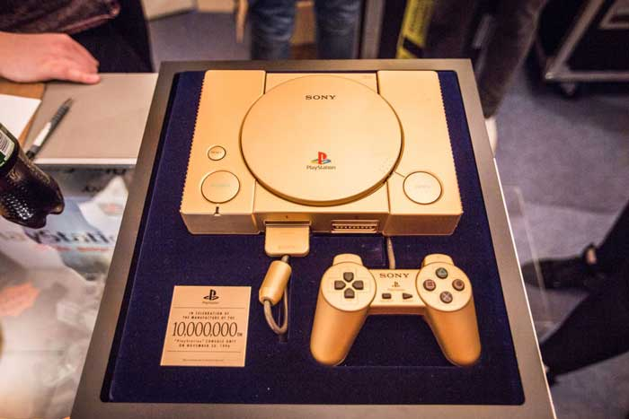 Gold PS One