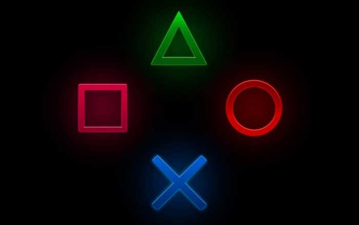 Символы контроллера PlayStation