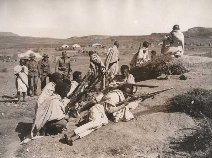 Итальянское вторжение в Эфиопию (затем в Абиссинию)