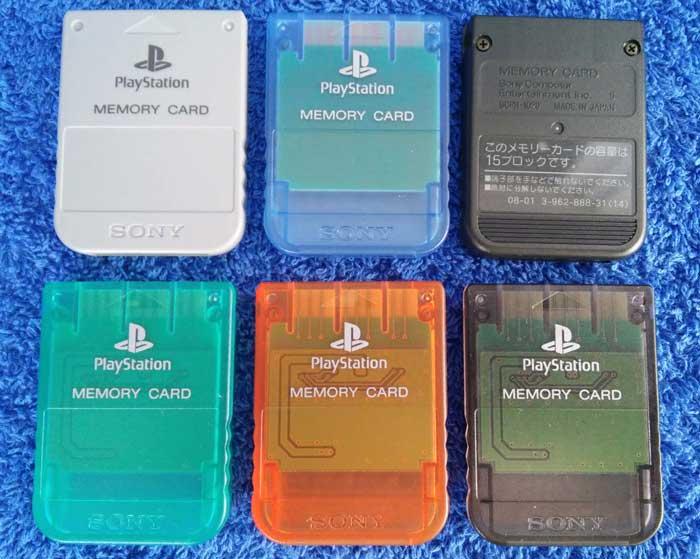 Внешние карты памяти PlayStation