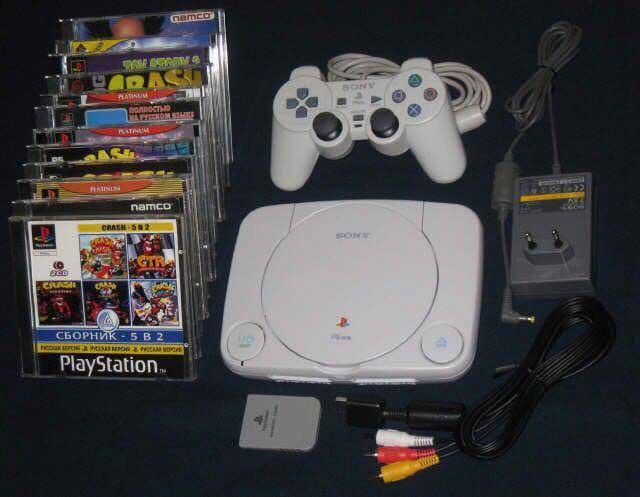 первая PlayStation