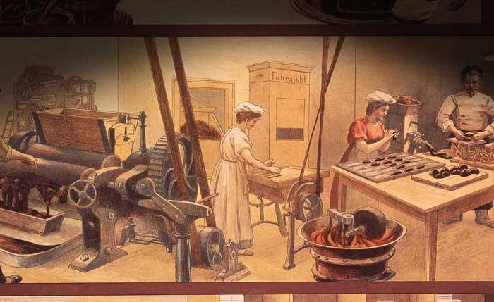 Британцы были первыми, кто сделал твердый шоколад