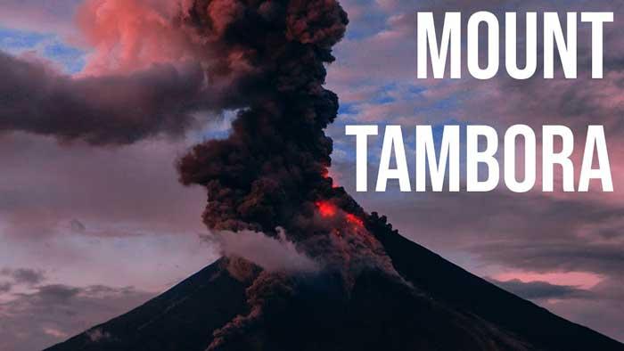 Извержение вулкана Тамбора