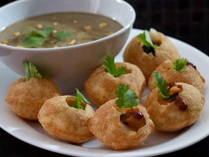Домашний индийский панипури