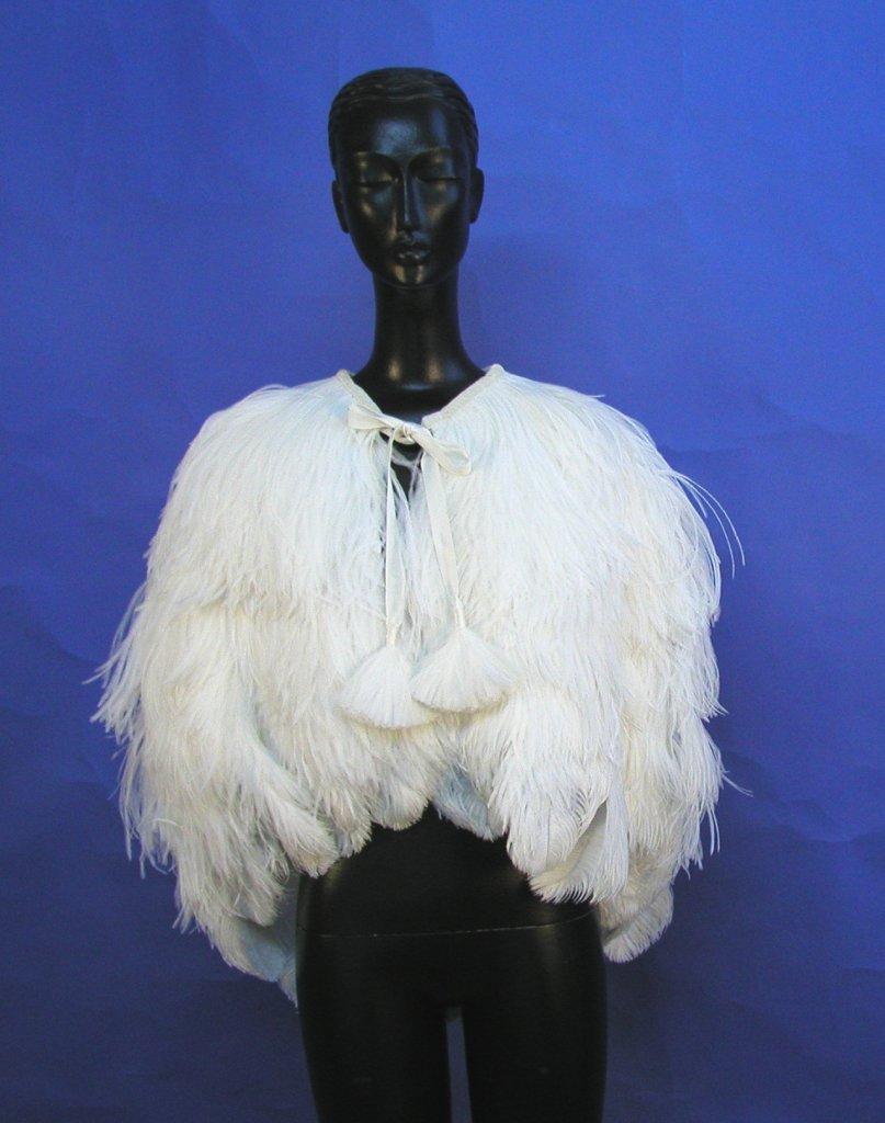 Страус перья